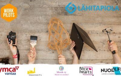 LähiTapiolan ja WorkPilotsin nuorten työllistämishanke käynnistyi yhteistyössä kansalaisjärjestöjen kanssa